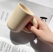 Load image into Gallery viewer, Ceramic Cute Tall Mug with strong handle