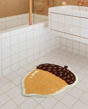 Load image into Gallery viewer, Pine Cone Non Slip Bath Mat