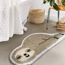Load image into Gallery viewer, Sloth Non Slip Bath Mat