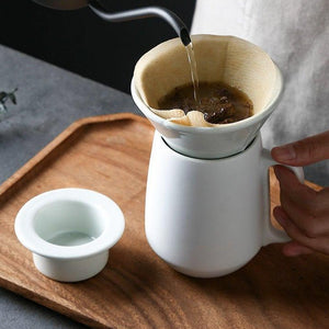 Ceramic Coffee Dripper Set