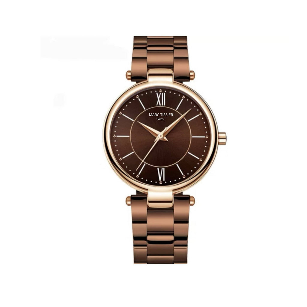 MARC TISSIER -  Couronne - marron 36 mm- lifestyle