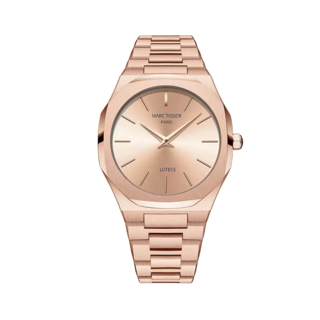MARC TISSIER - LUTECE | rose gold , 40mm fashion