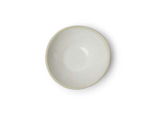 SALT DISH PLAIN WHITE- 7cm