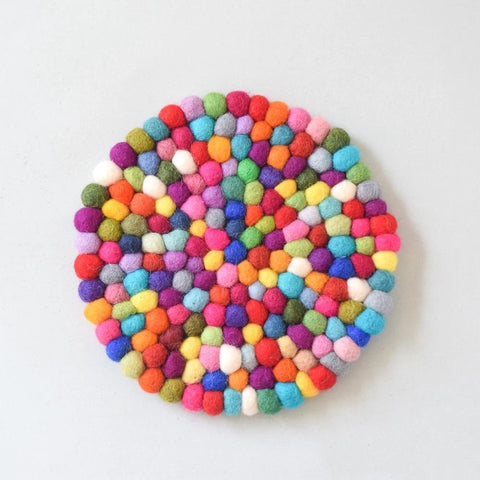Pot Trivet - Colourful 25cm