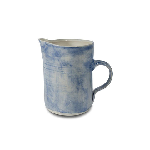 Small Water Jug - washed blue