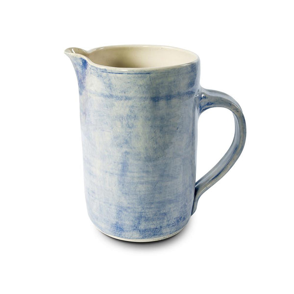 Large Water Jug- blue washed