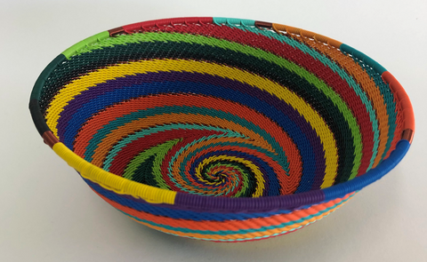 X-Large Wire Bowl 16/17cm - Rainbow