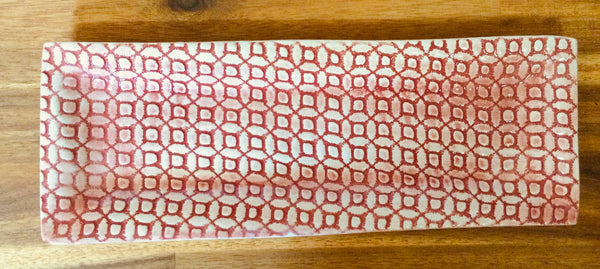 UTENSIL TRAY - Red