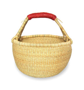 Medium Round Basket – Natural