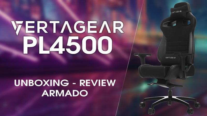 ¿Vertagear PL4500 la mejor silla gamer? - Unboxing, Review y armado