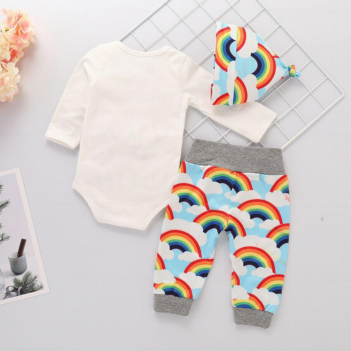 Newborn Baby Rainbow Set