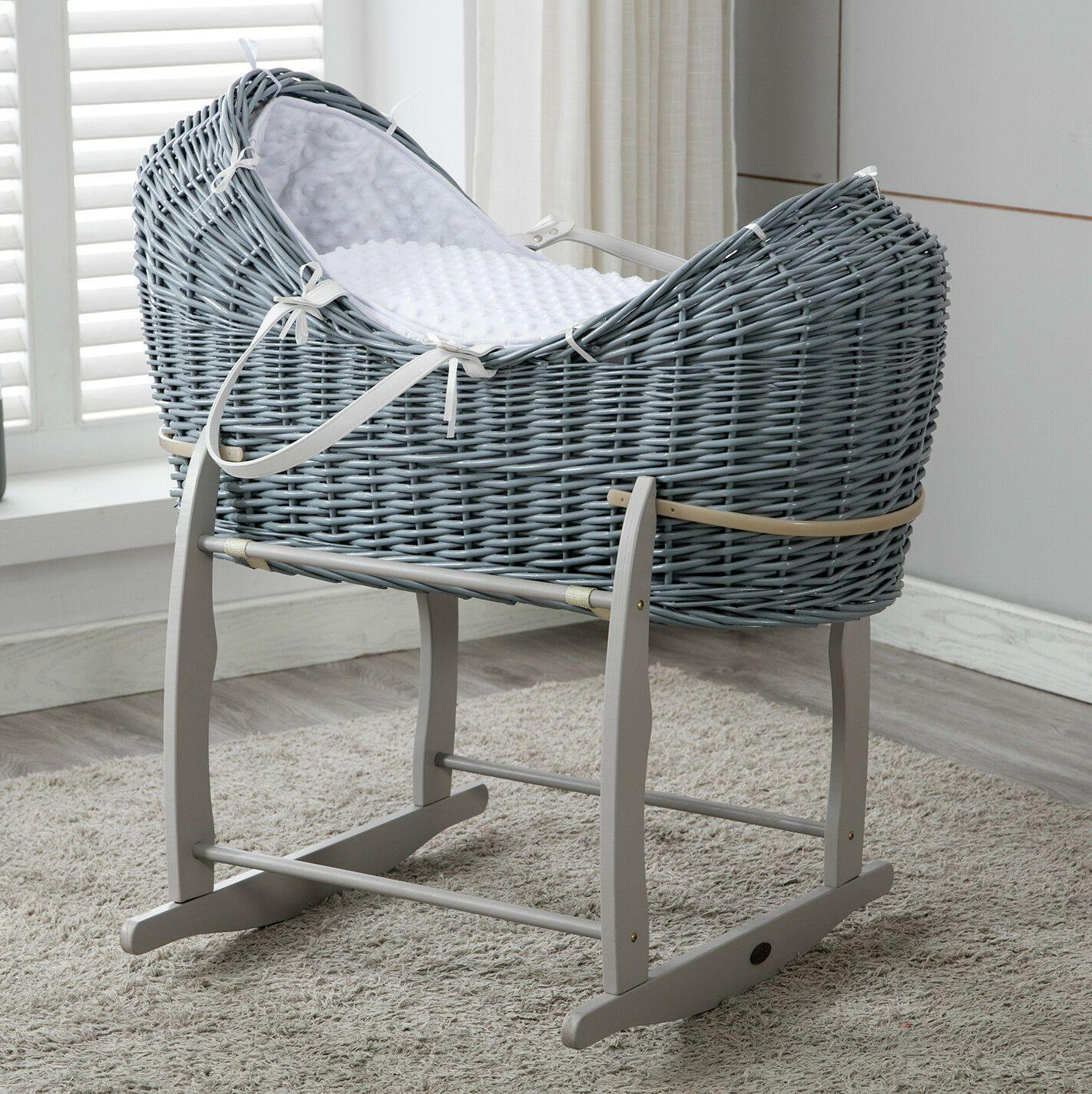 Full Set Moses Basket and Mattress