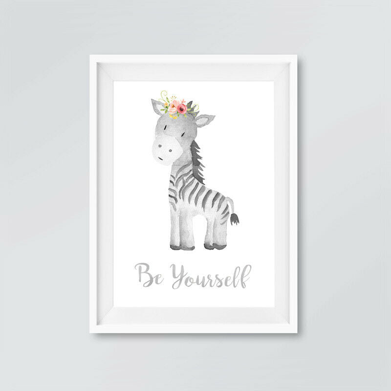Boho Animal Nursery Prints