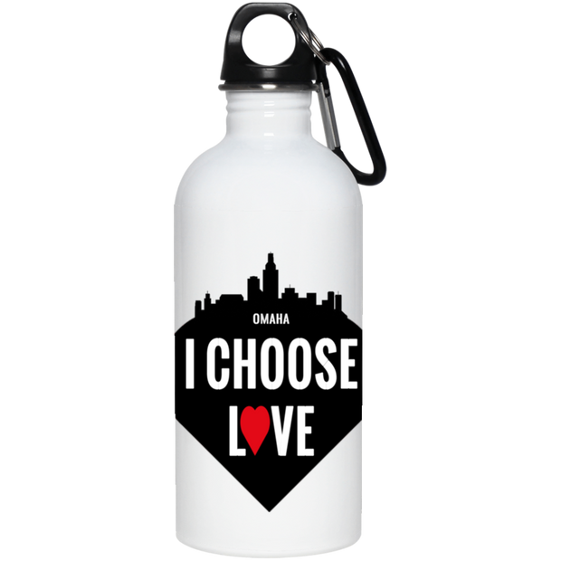 Omaha 20 oz. Stainless Steel Water Bottle