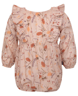 Little Wonders Fall Forrest Elissa Romper med flæser