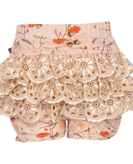 Little Wonders Fall Forrest Ella Bloomers med blonde numse