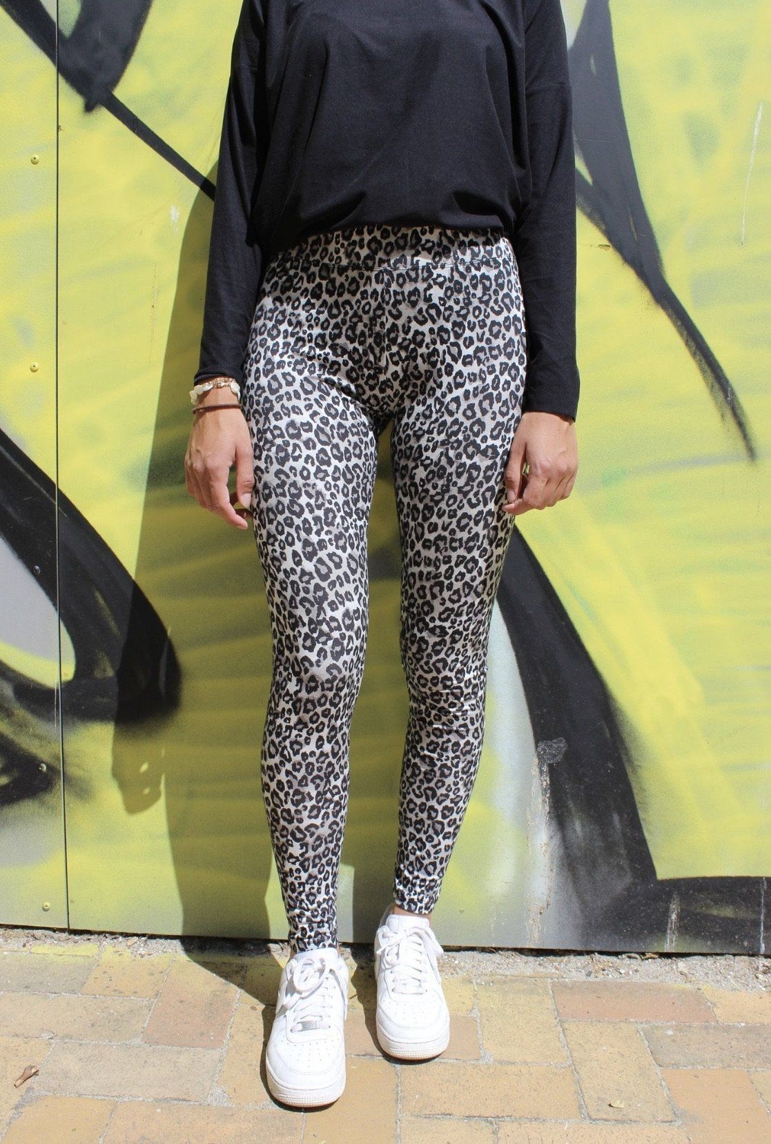 Liberté - Ninni Leggings - Black Leo