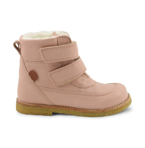 Pom Pom støvler Rub Sole™ Velcro Boot Tex Rosa