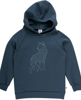 Müsli Wolf sweat hoodie Midnight