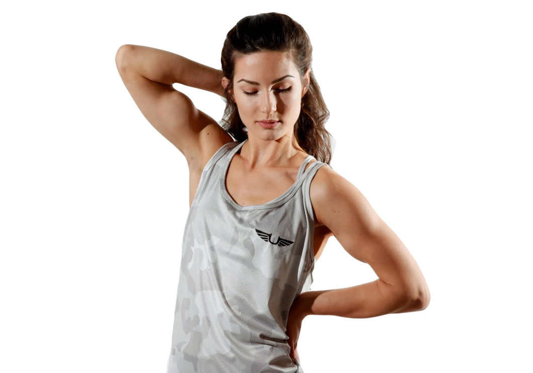 Womens Camo Tank (2 colors)-UltroSport