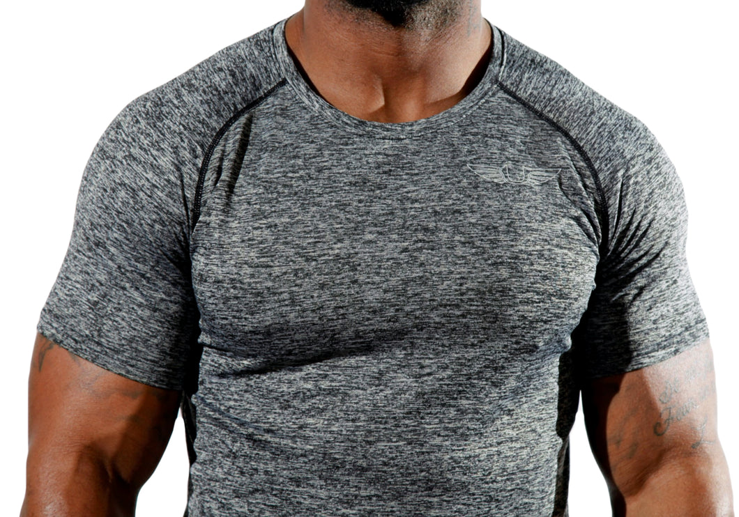 Slim Fit Gym Tee-UltroSport