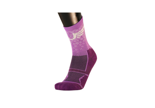 Ultro Padded Crew/ Compression (Purple)-UltroSport