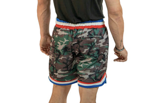 Mens Double Mesh Gym Shorts-UltroSport