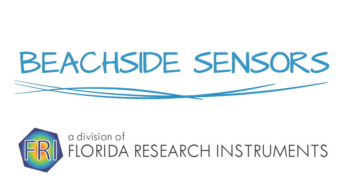 Logo for Beachside Sensors, a division of Florida Research Instruments Inc.