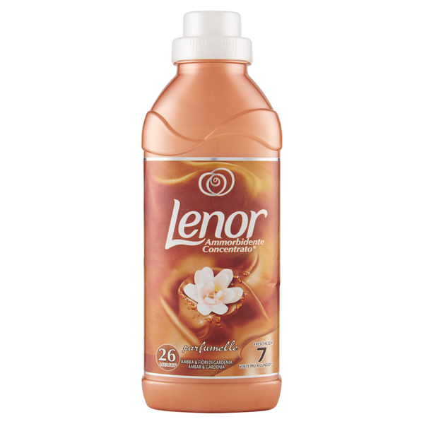 Lenor Ammorbidente Ambra e Gardenia 26 lavaggi 650ml