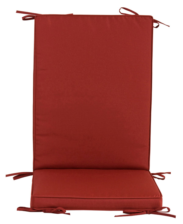 "CUSCINO ""BOX"" SCHIENALE MEDIO BORDEAUX HT203 - iBazar Shop"