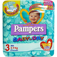 Pampers Baby Dry 3 - iBazar Shop