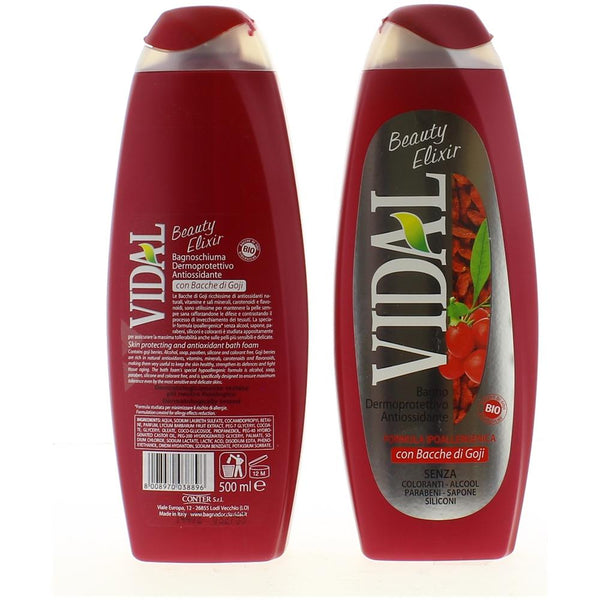 VIDAL Bagno schiuma Beauty Elixir 500 ml - iBazar Shop