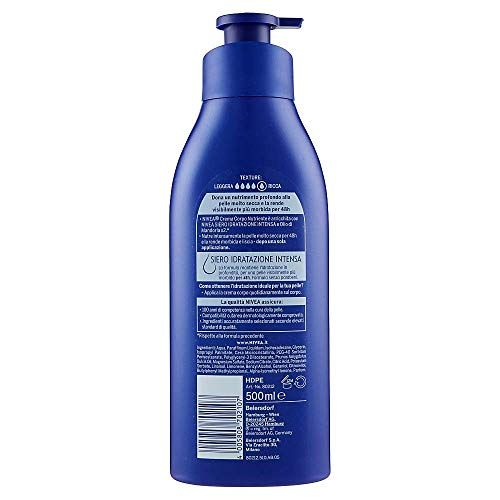 Nivea Crema Corpo nutriente 500 ml