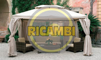 SET 4 TELI MOSCHIERA PER GAZEBO SAHARA MT.3X4 - iBazar Shop