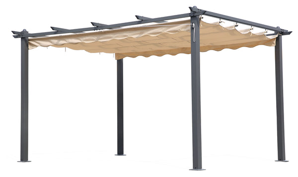 PERGOLA IN ALL. C/TELO RETRATTILE MT.3X4 2018 - iBazar Shop