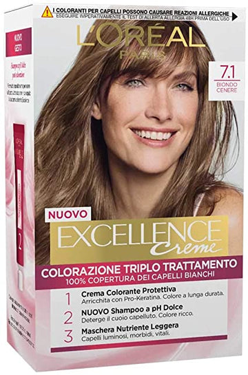 L'oreal Excellence n 7.1 Biondo Cenere