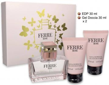 Gianfranco Ferre Rose Coffret EDT 30 ml + S/G 2 x 30 ml