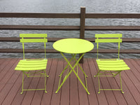 "SET BISTRO ""GIOTTO"" VERDE   FS460 - iBazar Shop"