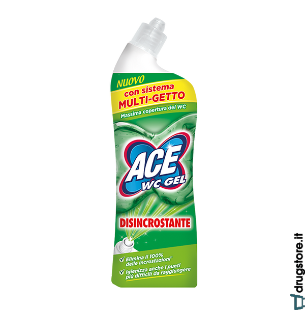 Ace WC Gel Disincrostante Multi Getto - iBazar Shop