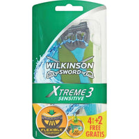 Wilkinson Sword Xtreme Sensitive 6 Rasoi