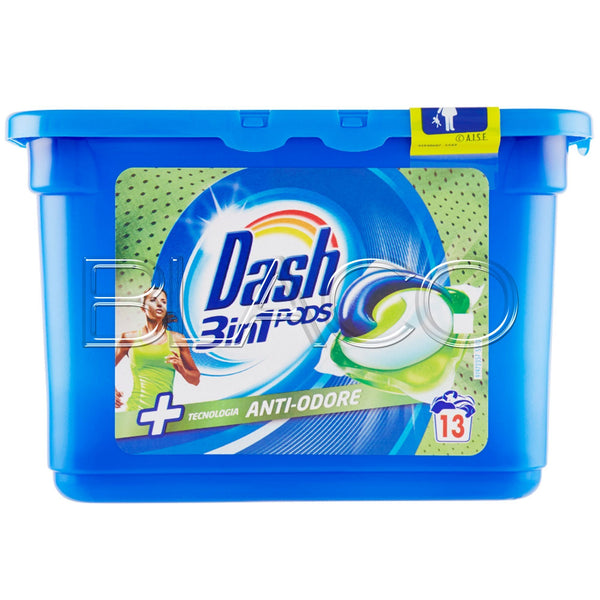 Dash 3 in 1 Pods Antiodore  13 Pz - iBazar Shop