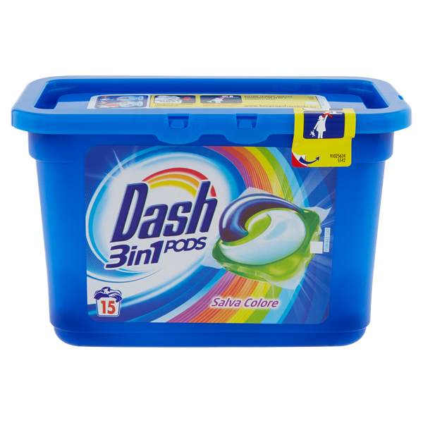 Dash 3 in 1 Pods Salvacolore 15 Pz - iBazar Shop