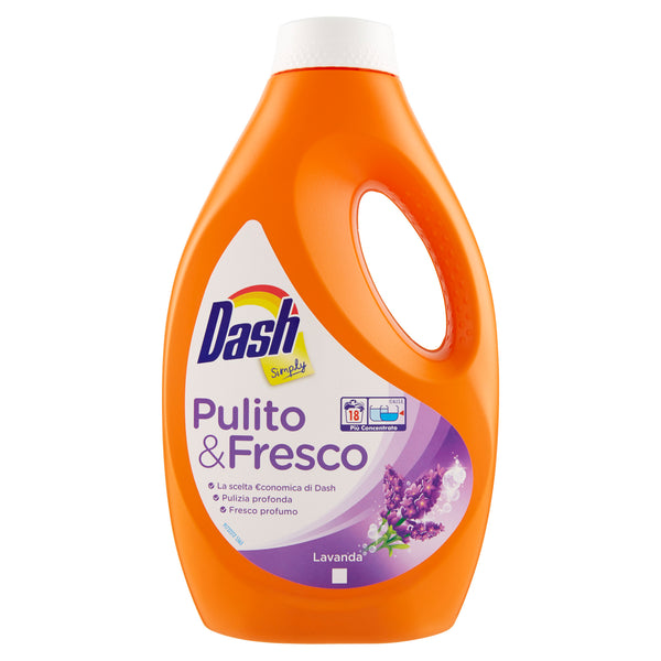 Dash Simply Detersivo Liquido Lavanda 990ml - iBazar Shop