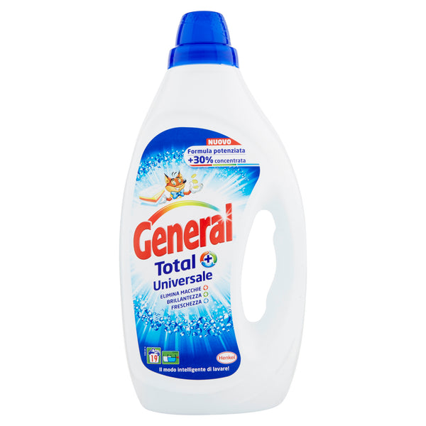 GENERAL Total+ Universale - 950 ml. - 19 Lav. - iBazar Shop
