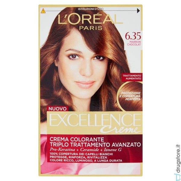 L'Oreal Excellence n 6.35 - iBazar Shop