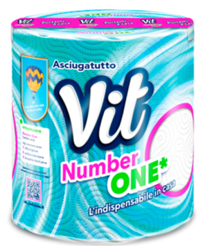 Vit Number One Bobina 400 strappi
