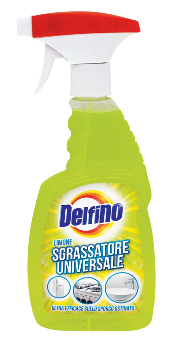 Delfino Sgrassatore Spray  Limone  600 ml