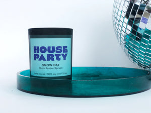 House Party Candles: Snow Day  -  Birch • Amber • Spruce