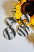 Load image into Gallery viewer, The Styles MIDI in Black + White Stripes