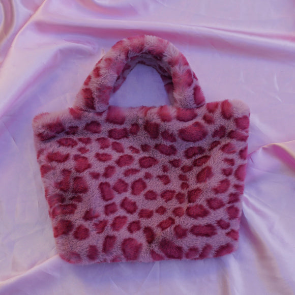 pink cheetah cowgirl clutch